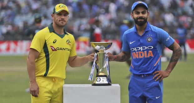 india vs australia 5th odi virat kohli and aaron finch