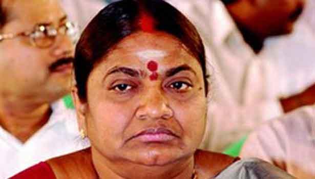 Ex Minister Valarmathi