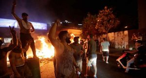Lebanon WhatsApp tax sparks mass protests 1910190819 1910191229