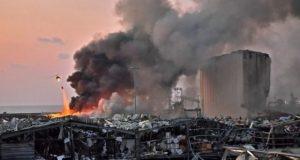 Lebanon blast 10 08 02
