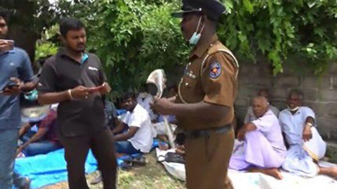 Thiyagi Thileepan Remembrance Police Investigation 2 428x240 1