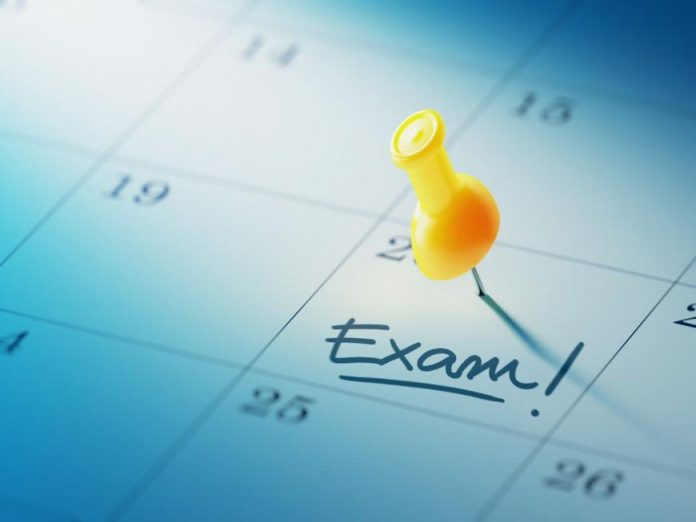 Exams will not be postponed