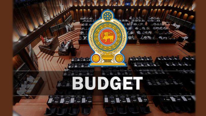budget in sri lanka parliament