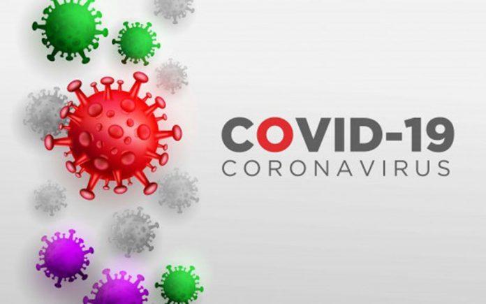 virus corona ilustrasi
