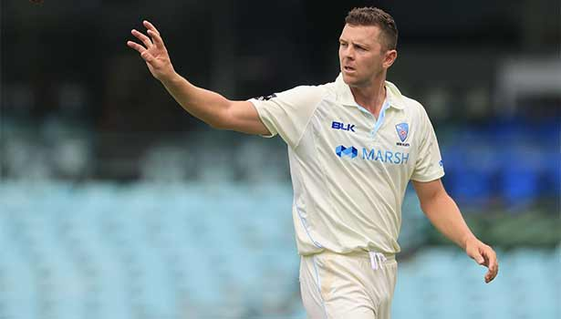 202104010949338417 Tamil News Hazlewood withdraws from IPL targets Shield final SECVPF