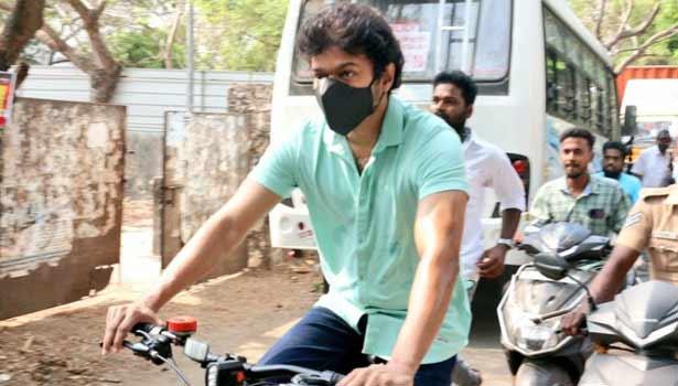 202104061138509824 Tamil News Tamil cinema Actor comment vijay cycling SECVPF