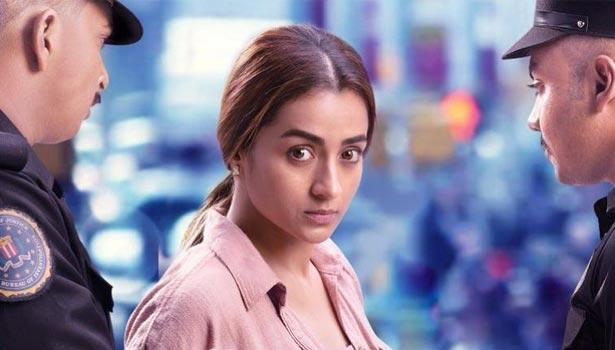 202104230739222891 Tamil News Tamil cinema Trishas Raangi movie eye for OTT release SECVPF