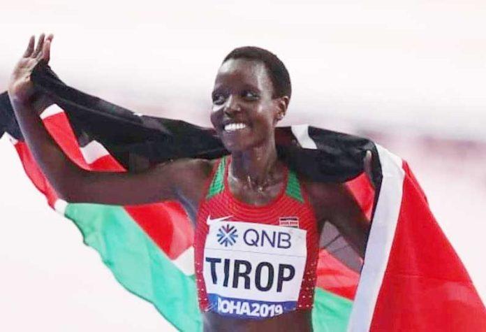 202110131801060385 Agnes Tirop who represented Kenya in 5000m in Tokyo SECVPF